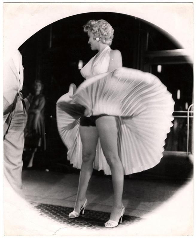 Weegee (Arthur H. Fellig). '[Marilyn Monroe]' c. 1950s