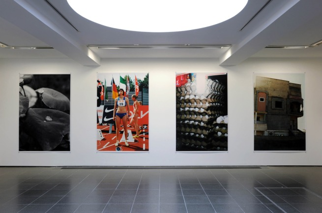 Wolfgang Tillmans. Installation view Serpentine Gallery, London
