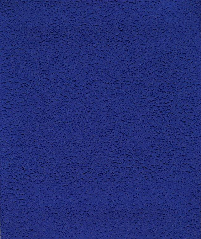 Yves Klein. 'Untitled Blue Monochrome' 1959