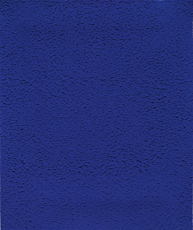 Yves Klein. 'Untitled Blue Monochrome' 1959
