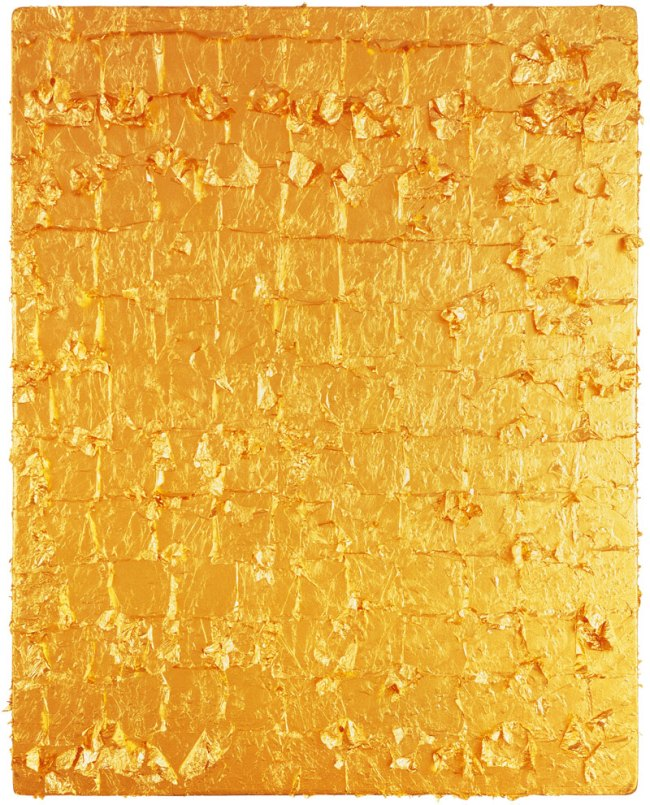 Yves Klein. 'Untitled Gold Monochrome' 1962