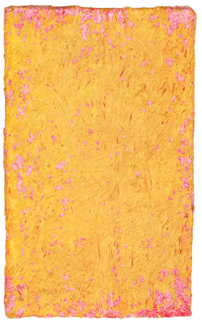 Yves Klein. 'Untitled Yellow and Pink Monochrome' 1955