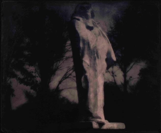 Edward Steichen. 'Midnight - Rodin's Balzac'. 1908