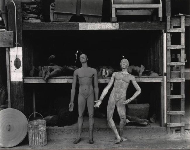 Edward Weston. 'Rubber Dummies, Metro Goldwyn Mayer Studios, Hollywood' 1939