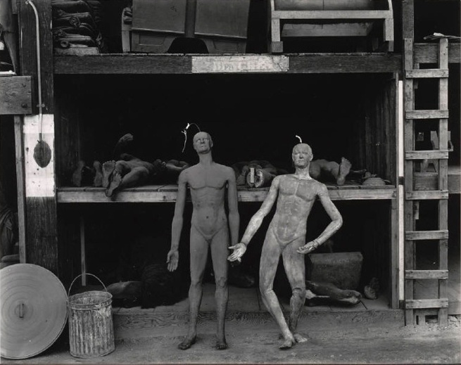 Edward Weston. 'Rubber Dummies, Metro Goldwyn Mayer Studios, Hollywood' 1939