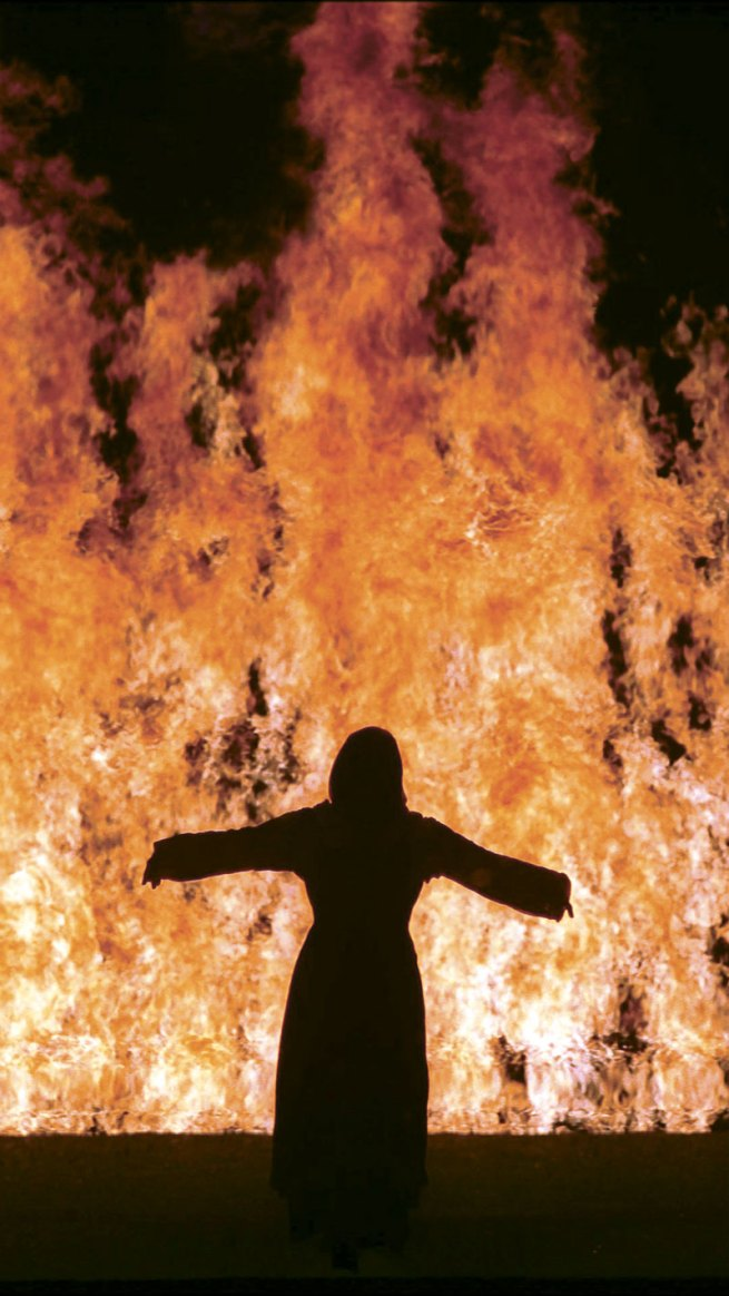 Bill Viola. 'Fire Woman' 2005 (still)