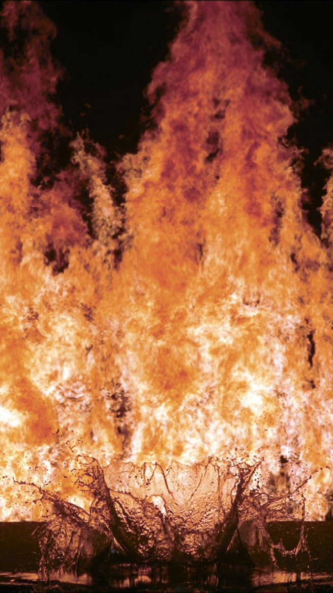 Bill Viola. 'Fire Woman' 2005 (still)