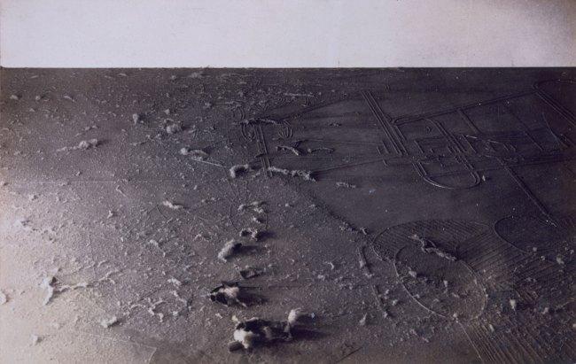Marcel Duchamp and Man Ray (Emmanuel Radnitzky). 'Élevage de poussière (Dust breeding)' 1920