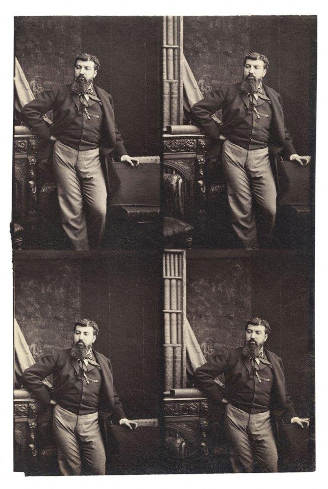 Camille Silvy. 'Self-portrait' 1863