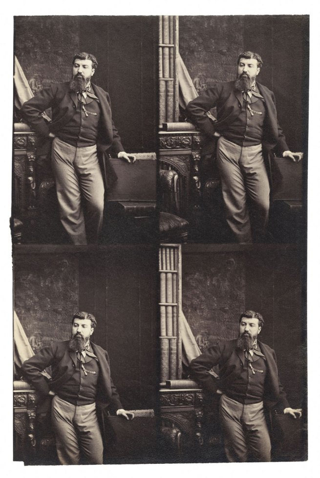 Camille Silvy. 'Self-portrait' 1863