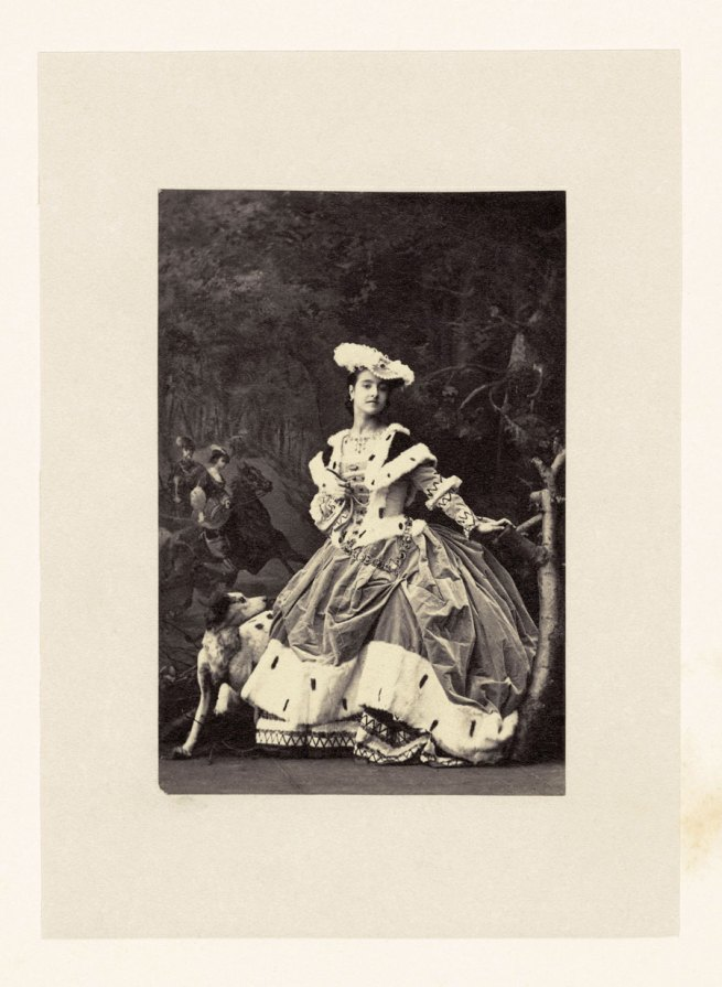 Camille Silvy. 'Adelina Patti as Harriet in Martha' 1861
