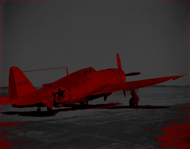 Marcus Bunyan. 'Missing in Action (red kenosis) No. 78' 2010