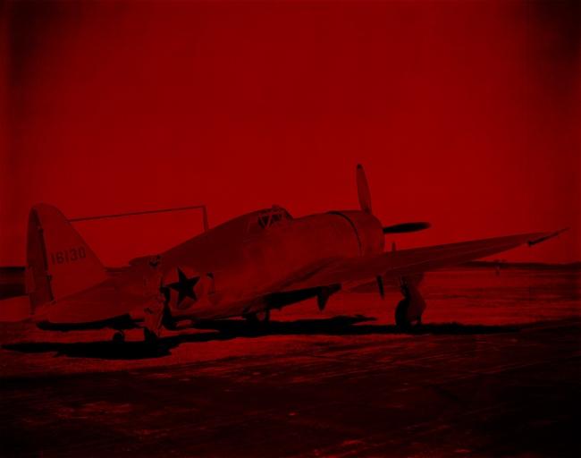Marcus Bunyan. 'Missing in Action (red kenosis) No. 80' 2010