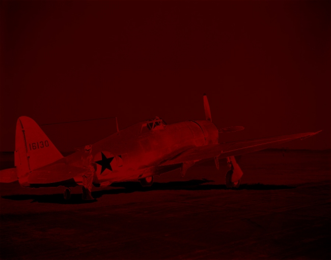 Marcus Bunyan. 'Missing in Action (red kenosis) No. 81' 2010