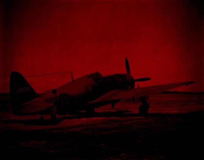 Marcus Bunyan. 'Missing in Action (red kenosis) No. 82' 2010