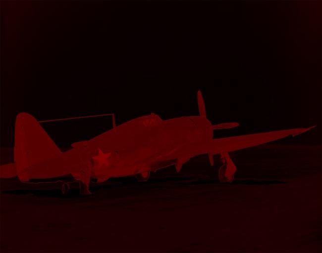 Marcus Bunyan. 'Missing in Action (red kenosis) No. 85' 2010