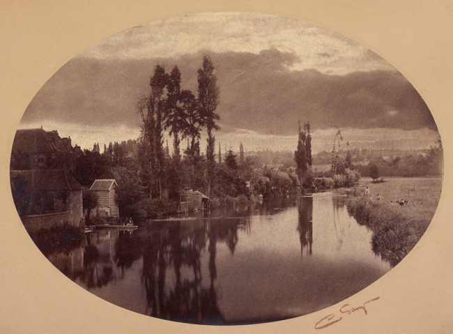 Camille Silvy (French, 1834-1910) '[River Scene, France]' Negative 1858; print 1860s