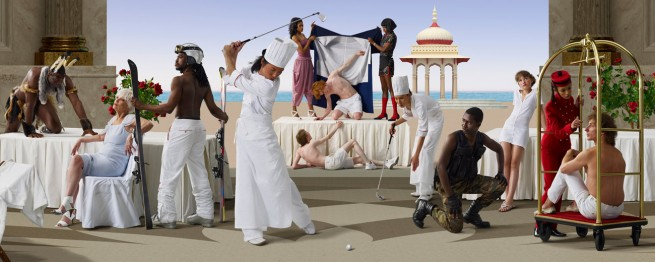 AES+F. 'The Feast of Trimalchio Panorama #5' 2009