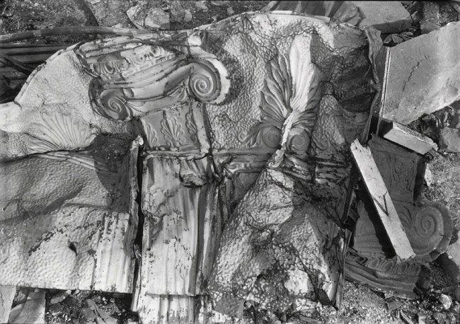 Walker Evans. 'Stamped Tin Relic' 1929 (printed c. 1970)