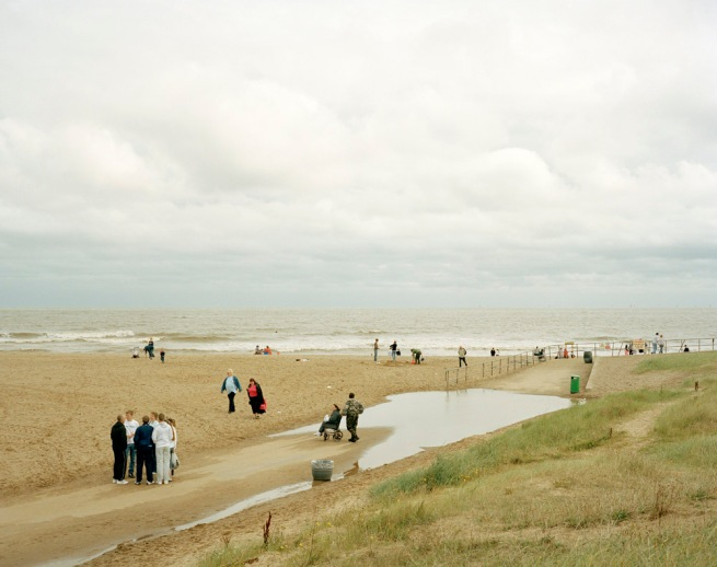 Simon Roberts. 'Skegness Beach, Lincolnshire, 12th August 2007' from the series 'We English'