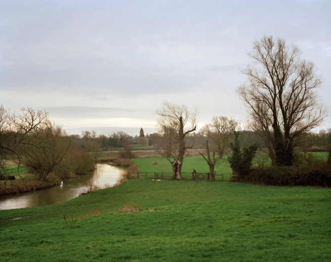 Simon Roberts 'Grantchester Meadows, Cambridgeshire, 23rd January 2008' from the series 'We English' 2008