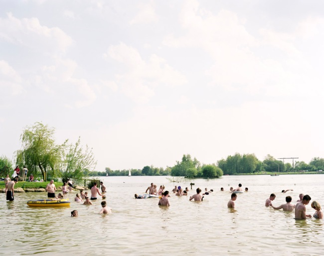 Simon Roberts 'Cotswold Water Park, Shornecote, Gloucestershire, 11th May 2008' from the series 'We English' 2008