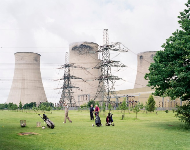 Simon Roberts 'Ratcliffe-on-Soar Power Station, Nottinghamshire, 16th June 2008' from the series 'We English' 2008