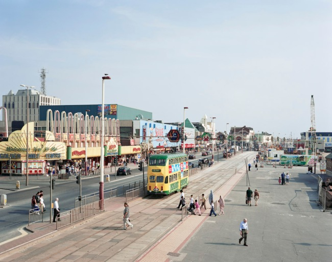 Simon Roberts 'Blackpool Promenade, Lancashire, 24th July 2008' from the series 'We English' 2008