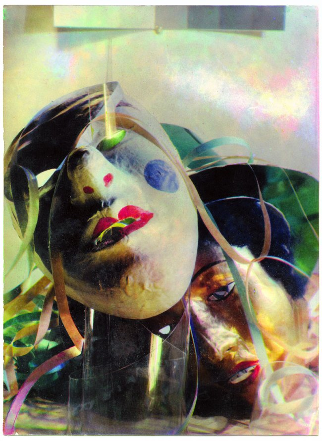 László Moholy-Nagy / Paul Hartland. 'Carnival: Composition with two masks'