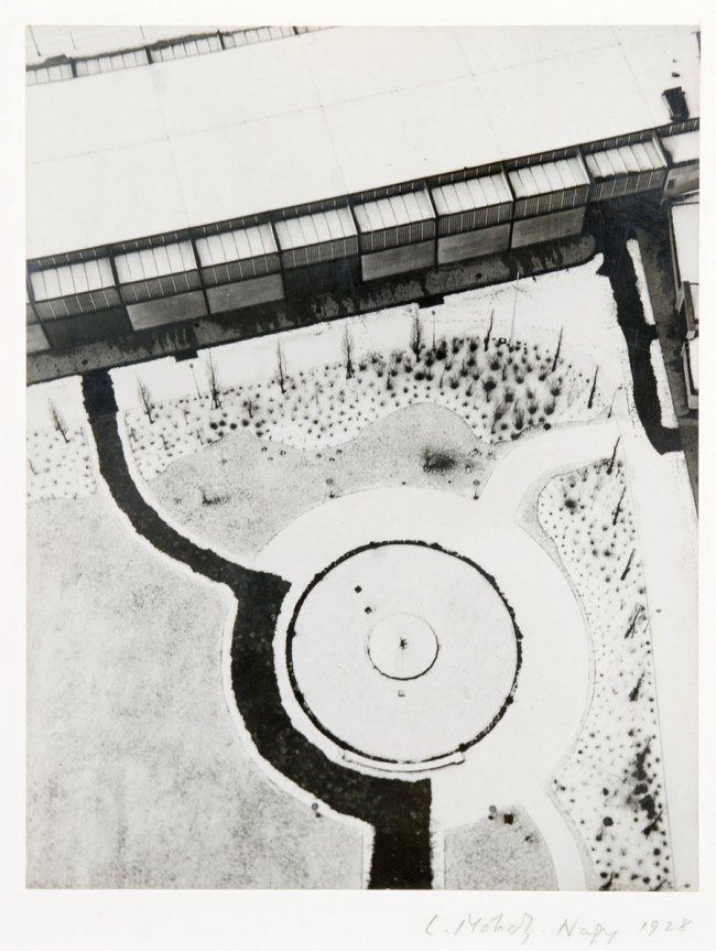 László Moholy-Nagy. 'From the radio tower, Berlin' 1928