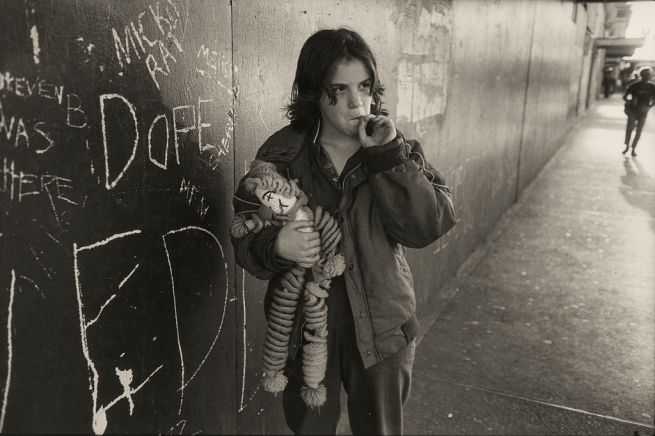 Mary Ellen Mark (American, born 1940). 'Lillie with Her Rag Doll, Seattle' 1983