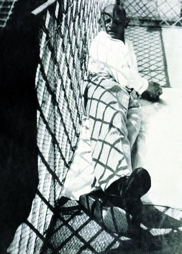 László Moholy-Nagy. 'Oscar Schlemmer in Ascona' 1926
