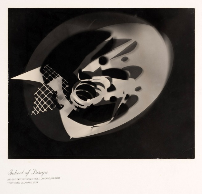 László Moholy-Nagy. 'Photogram' c. 1938