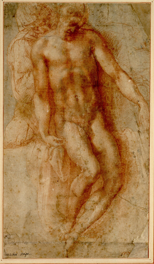 Michelangelo Buonarroti. 'Pietà' around 1530-36