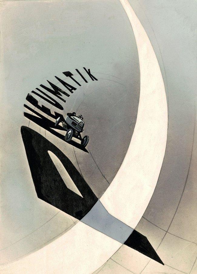 László Moholy-Nagy. 'Pneumatik' 1924