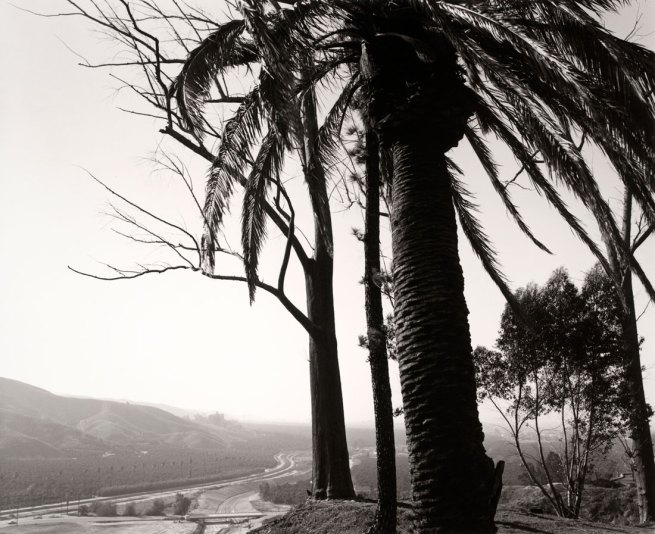 Robert Adams. 'Edge of San Timoteo Canyon, looking toward Los Angeles, Redlands, California' 1978