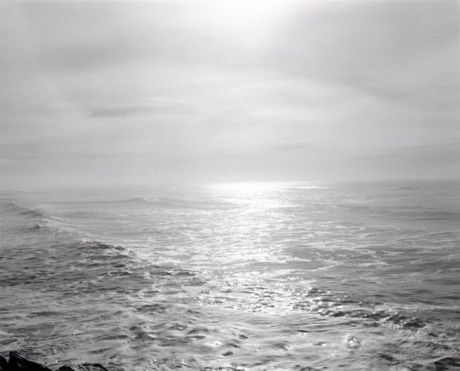 Robert Adams. 'Southwest from the South Jetty, Clatsop County, Oregon' 1992