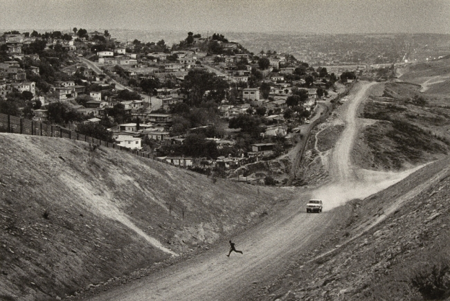 Sebastião Salgado (Brazilian, born 1944). 'Mexico Border, desert of San Ysidro, California' negative 1997; print 2009
