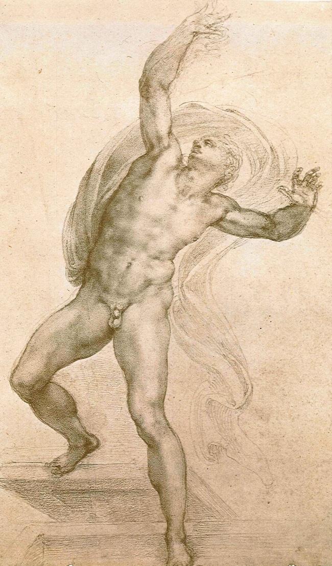 Michelangelo Buonarroti. 'The Risen Christ' c. 1532