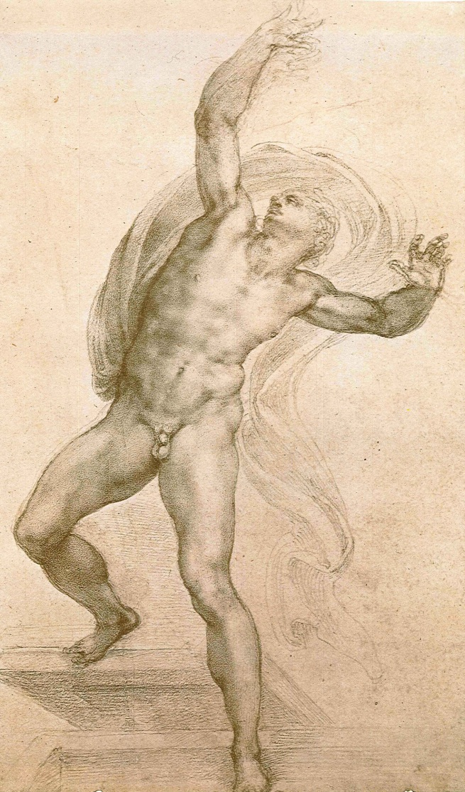 Michelangelo Buonarroti. 'The Risen Christ' c. 1532