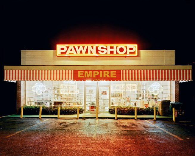Will Steacy. 'Pawn Shop, Memphis' 2007