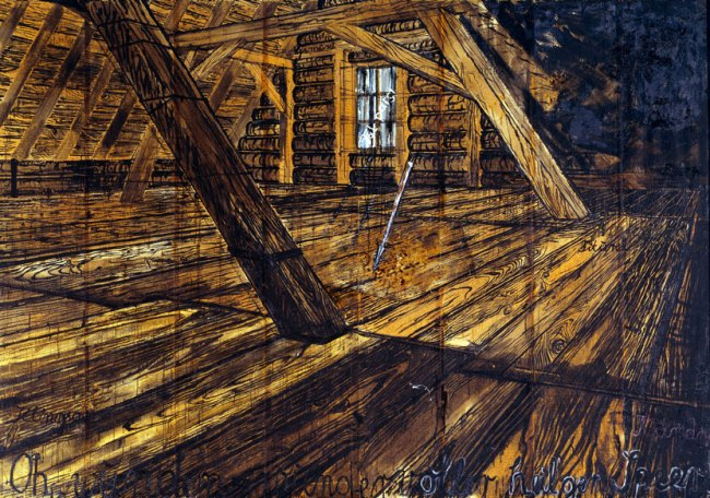 Anselm Kiefer. 'Parsifal III' 1973