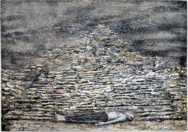 Anselm Kiefer. 'Man under a Pyramid' 1996