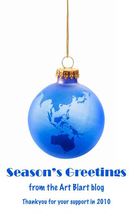 Season's greetings and a Happy New Year from Art Blart