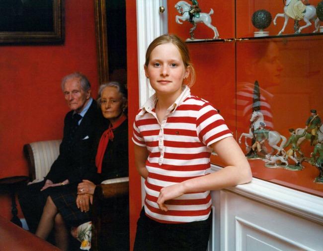 Tina Barney. 'The Granddaughter' 2004