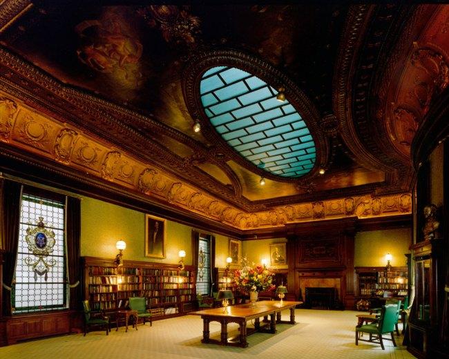 Jim Dow. 'Library Metropolitan Club, New York' 1999 / 2010