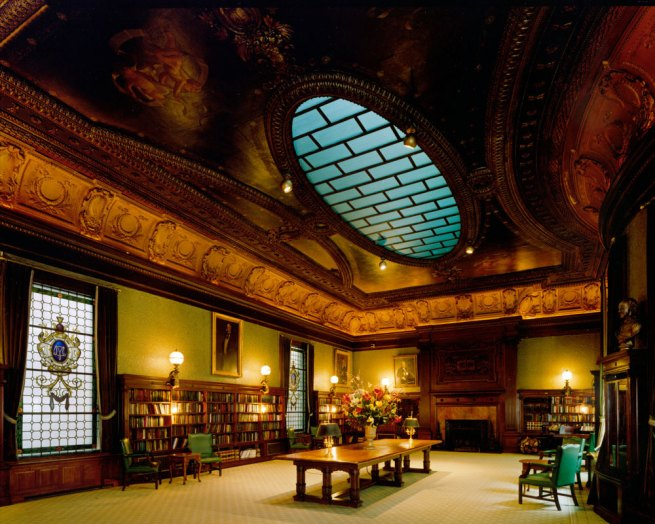 Jim Dow. 'Library Metropolitan Club, New York' 1999 / 2010