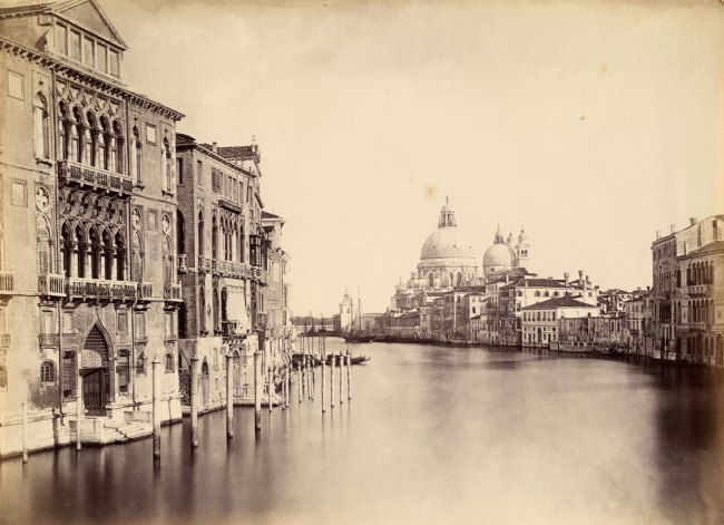 Stephen Thompson. 'Grande Canale, Venice' c. 1868