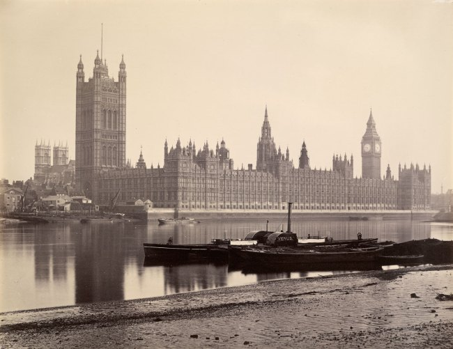 England 'Houses of Parliament, London' 1860s