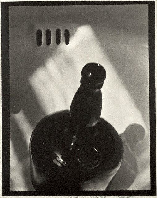 Paul Strand (American, 1890 - 1976) '[Black Bottle]' negative about 1919; print 1923 - 1939